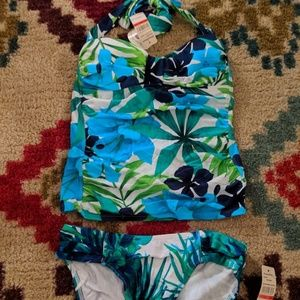 Blue And Green Tropical Tankini Set Tommy Bahama